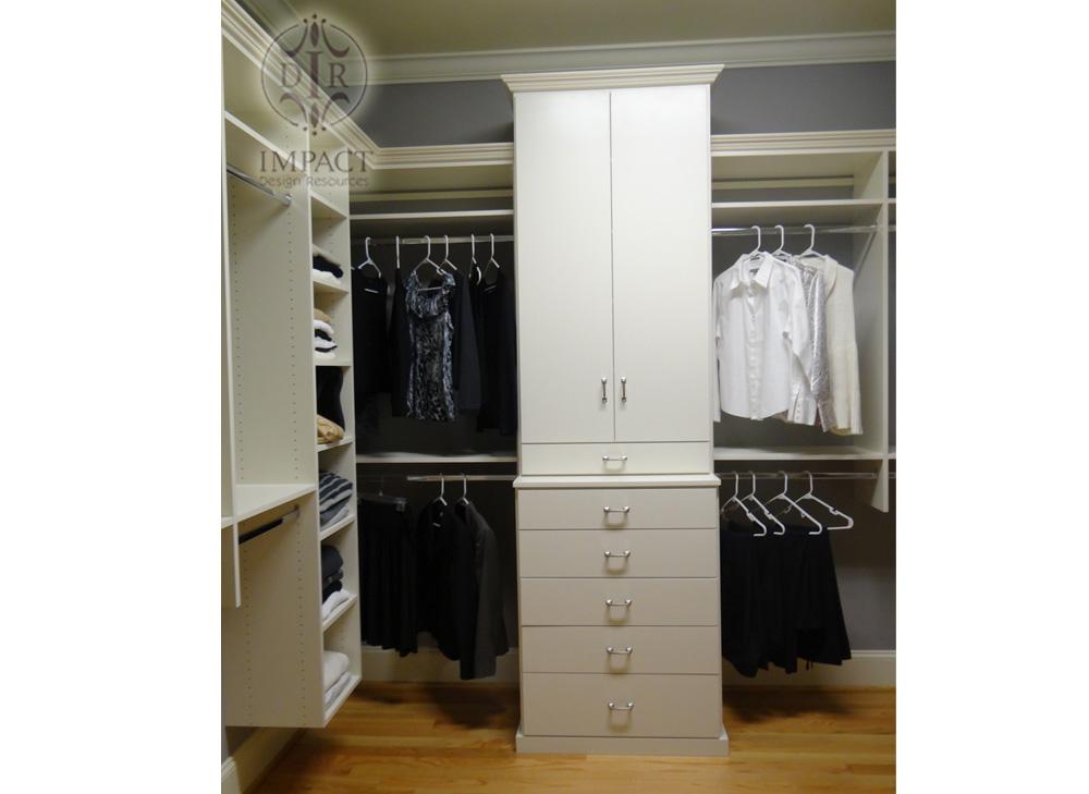 Custom Closet Photos Custom Closets By Impact Design