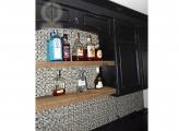 <p>Reclaimed Wood Shelves</p>