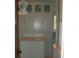 <p>Painted Closet, Arts & Crafts Style</p>