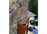 <p>Cedar T.V. Cabinet  & Copper Flashing</p>