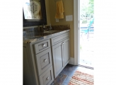 <p>Outdoor Cabinetry Bath Painted on Site</p>
