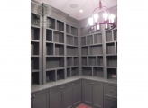 <p>Library with Custom Shelving</p>