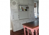 <p> Craft Room Built Ins & Island on Wheels</p>