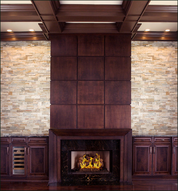 mantels and built-ins